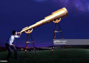 business, field, night time, blue sky, stars, galaxy, science