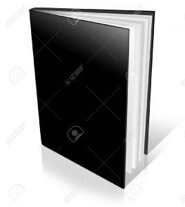 18143105-nero-copertura-dura-di-libro-aperto-su-sfondo-bianco